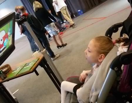 Przestrzeń multimedialna dla dzieci z niepełnosprawnością podczas Międzynarodowej Konferencji w Poznaniu – 2015 rok.