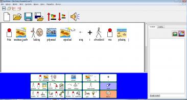 SymWriter - plansza komunikacyjna 2